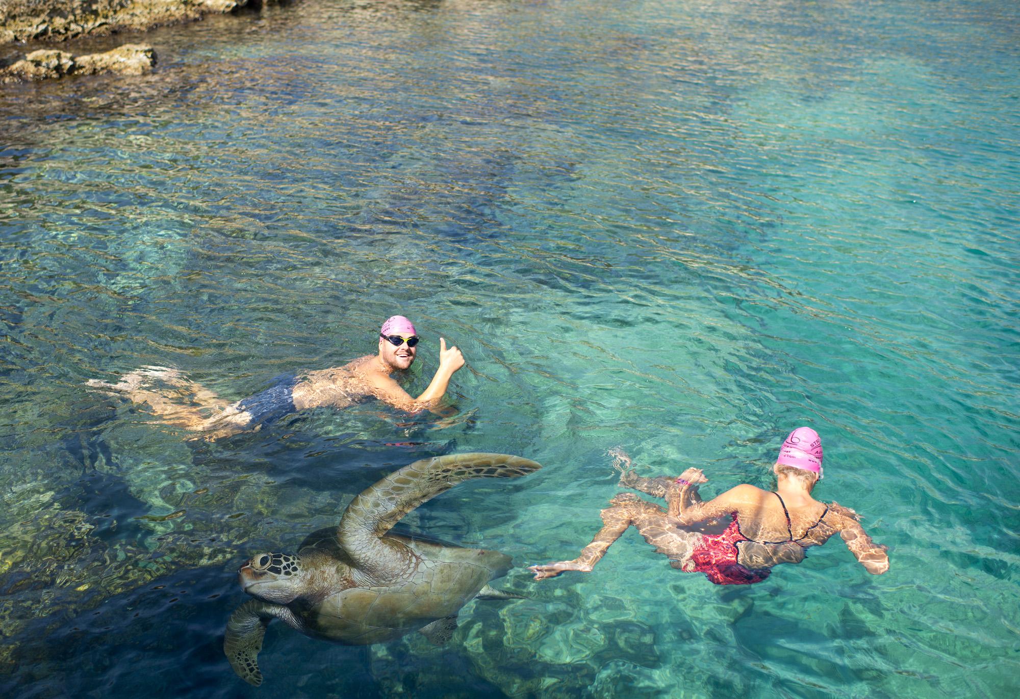 Swimming in Turkey