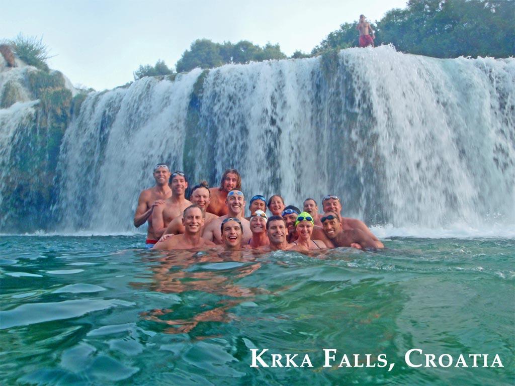why is swimming in croatia is beautiful