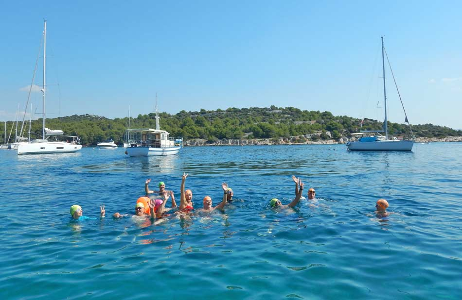 Croatia Sea Swimming