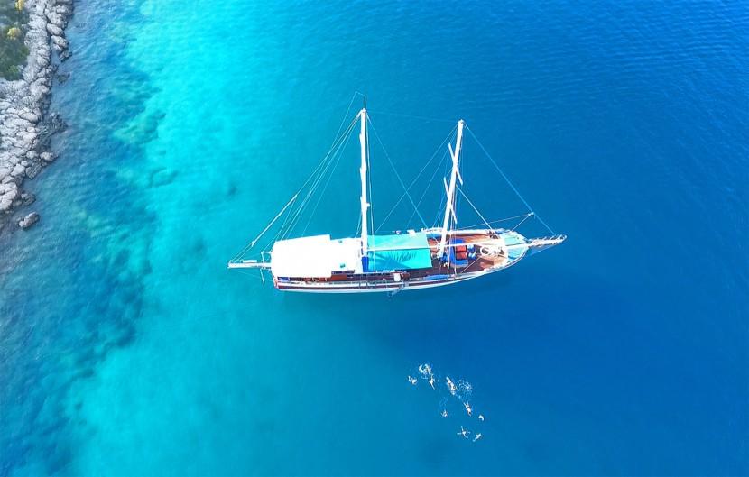 Strel Swimming Holidays, Kas, Turkey