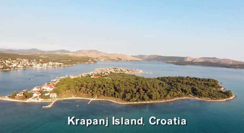 Krapanj Island, Croatia